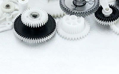 metal and plastic gears